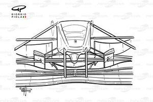 Носовой обтекатель Ferrari F310B (648/2) 1997 года
