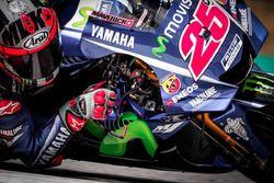 Maverick Vinales, Yamaha, mit neuer Verkleidung