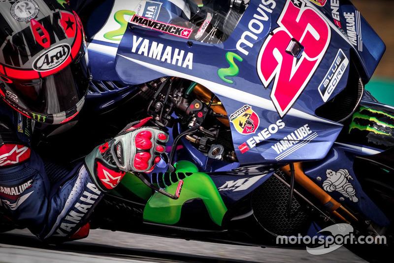 9. Maverick Viñales, Yamaha Factory Racing with fairing detail