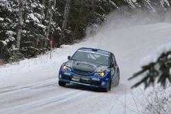 Patrick Richard, Nathalie Richard, Subaru Impreza WRX STI
