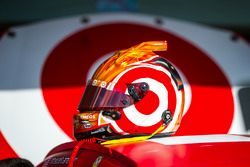 Helmet of Kyle Larson, Chip Ganassi Racing Chevrolet