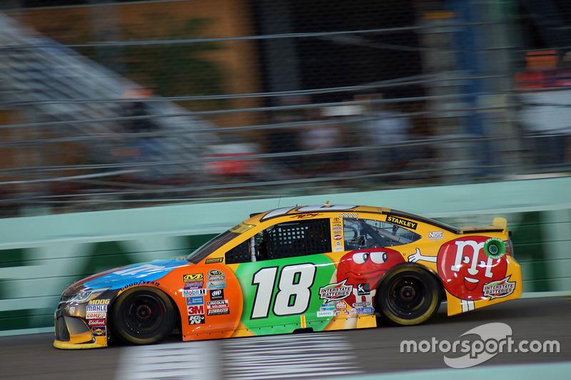 3. Kyle Busch (Gibbs-Toyota): P6 im Rennen