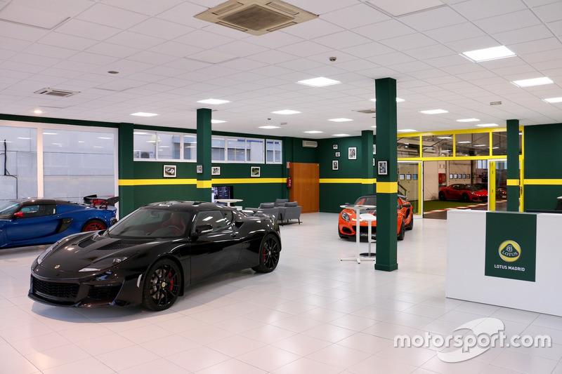 Concesionario Lotus Madrid