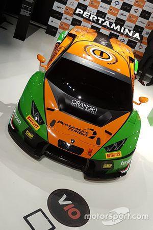Автомобиль Lamborghini Huracan GT3 команды Grasser Racing Team