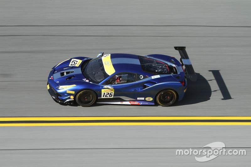 #126 Ferrari of Central Florida Ferrari 488: Robert Picerne
