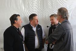 Michael Andretti, Zak Brown, United Autosports