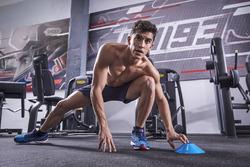 Marc Marquez trains in Cervera, Spain
