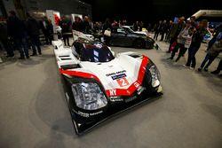 Le stand Porsche