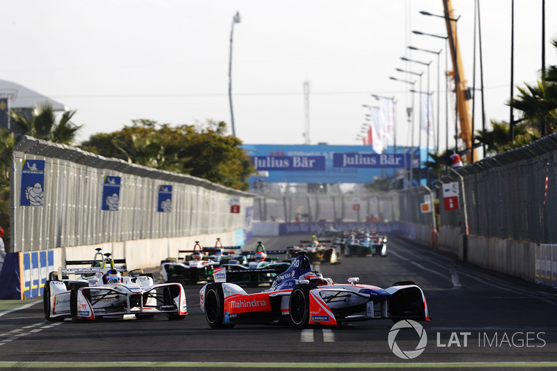 Felix Rosenqvist, Mahindra Racing, Jose Maria Lopez, Dragon Racing