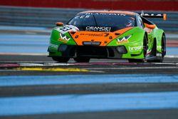 #63 GRT Grasser Racing Team Lamborghini Huracan GT3: Mirko Bortolotti, Christian Engelhart, Andrea C