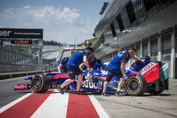 Marc Marquez teste la Toro Rosso F1