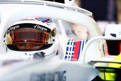 Lance Stroll, Williams Racing, in cockpit
