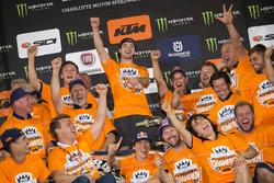 Jeffrey Herlings, Red Bull KTM Factory Racing, wint in Charlotte en pakt de WK-titel (2016)
