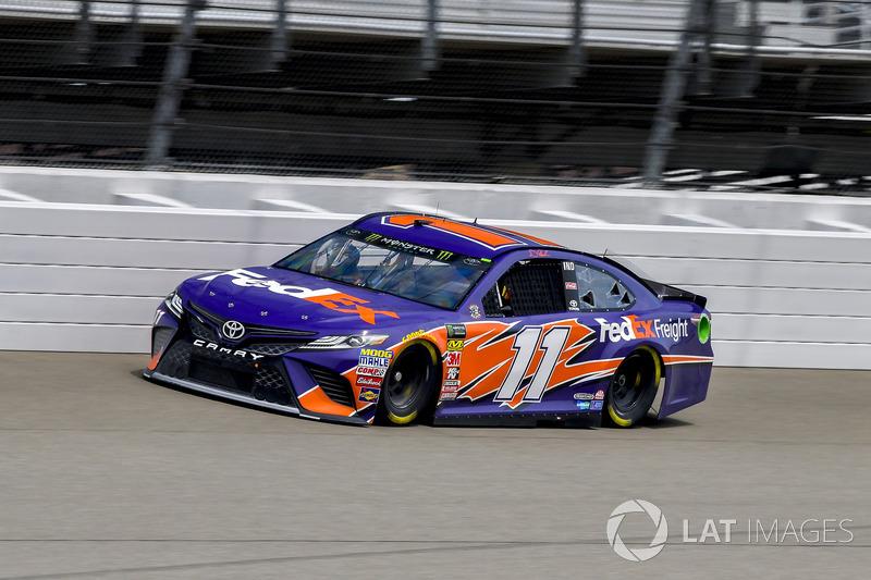 10. Denny Hamlin, Joe Gibbs Racing, Toyota Camry FedEx Freight