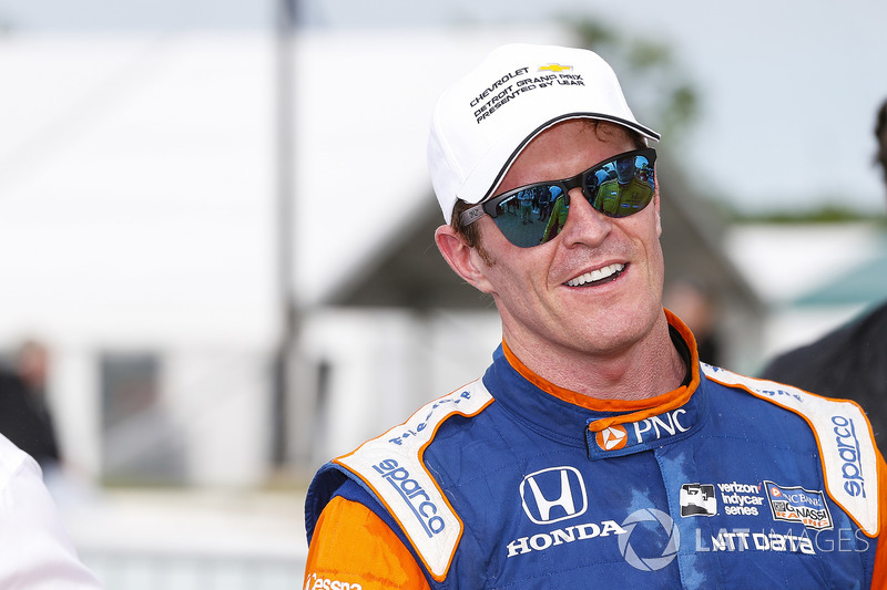 Scott Dixon, Chip Ganassi Racing Honda, Winner