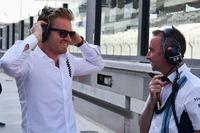 Nico Rosberg, Mercedes-Benz Ambassadeur en Paddy Lowe, technisch directeur Williams