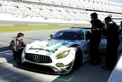 Автомобиль №33 команды Riley Motorsports, Mercedes AMG GT3: Йерун Блекемолен