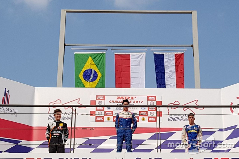 Pemenang Race 4: Presley Martono
