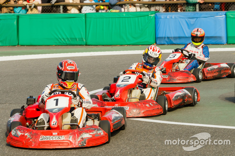 Заезд Honda Racing Dream Kart Cup
