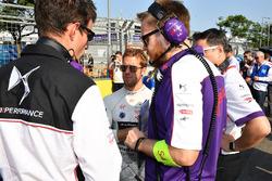 Sam Bird, DS Virgin Racing, on the grid