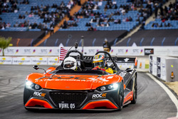 Ryan Hunter-Reay of Team USA driving the VUHL 05 ROC Edition