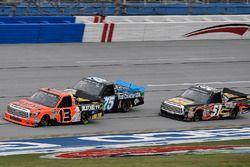 Cody Coughlin, ThorSport Racing Toyota, Parker Kligerman, Henderson Motorsports Toyota y Myatt Snide