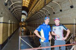 Jack Miller, Estrella Galicia 0,0 Marc VDS, Alex Rins, Team Suzuki MotoGP visita el Old Melbourne Gaol
