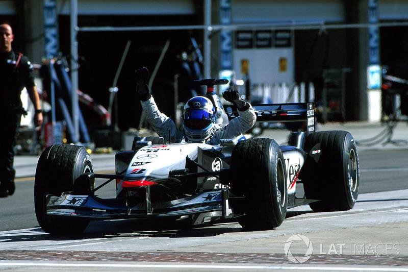 Mika Hakkinen - Dois títulos (1998, 1999)