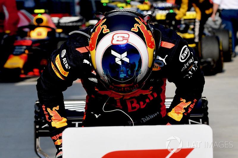 Победитель Даниэль Риккардо, Red Bull Racing RB14