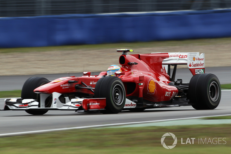 2010 Fernando Alonso, Ferrari