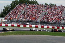 Себастьян Феттель, Scuderia Toro Rosso STR03, Роберт Кубица, BMW Sauber F1.08 и Фернандо Алонсо, Renault F1 Team R28