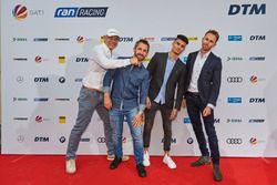 Axel Schulz, Timo Glock, Pascal Wehrlein, René Rast
