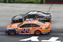 Joey Logano, Team Penske, Ford Fusion Autotrader, Reed Sorenson, Premium Motorsports, Chevrolet Camaro