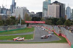 Scott McLaughlin, DJR Team Penske Ford, Scott Pye, Walkinshaw Andretti United Holden