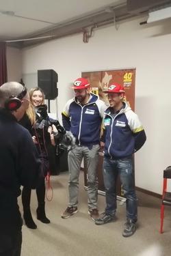 Fausto Vignola e Maurizio Gerini