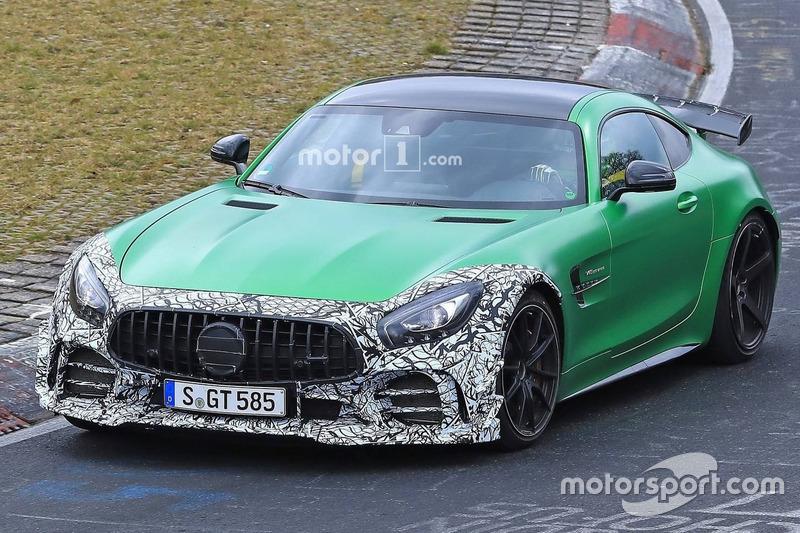 2019 Mercedes AMG GT R facelift (шпигунське фото)