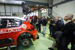 Coche de Sébastien Loeb , Daniel Elena, Citroën World Rally Team Citroën C3 WRC