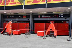 Ferrari garage and screens