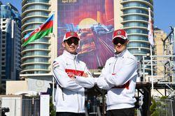 Charles Leclerc, Sauber Y Marcus Ericsson, Sauber