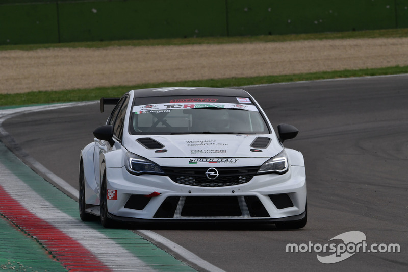 Andrea Argenti, Opel Astra TCR