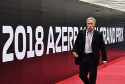 Chase Carey, CEO Formule 1