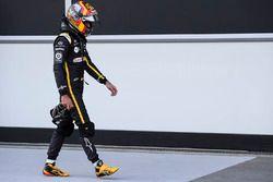 Carlos Sainz Jr., Renault Sport F1 Team en parc ferme