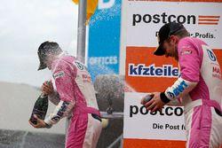 Podium: #26 BWT Mücke Motorsport Audi R8 LMS: Jeffrey Schmidt, Stefan Mücke