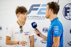 Тадасуке Макино, Russian Time, и Лука Гьотто, Campos Vexatec Racing