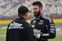 Corey LaJoie, TriStar Motorsports, Chevrolet Camaro MyFreedomSmokes.com and Frank Kerr