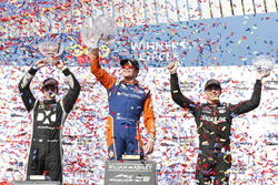 Podium: 1. Scott Dixon, 2. Simon Pagenaud, 3. Robert Wickens
