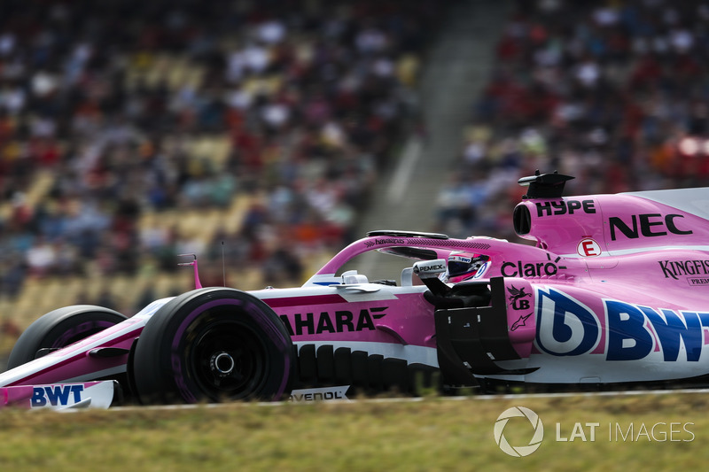 7e : Sergio Pérez (Force India)
