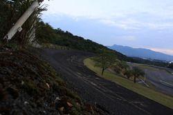 Antiguo parque conmemorativo de la peraltada de Fuji