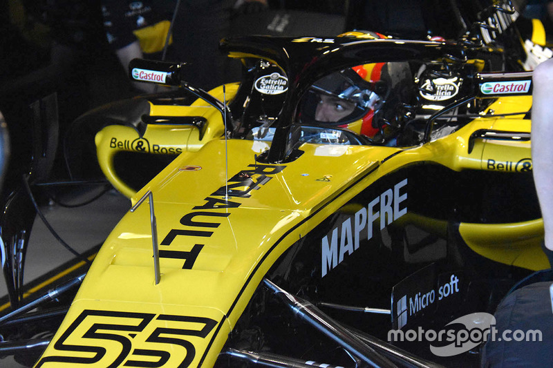 Detalle del chasis Renault Sport F1 Team RS18