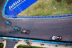 Edoardo Mortara, Venturi Formula E Team., Andre Lotterer, Techeetah, Luca Filippi, NIO Formula E Tea